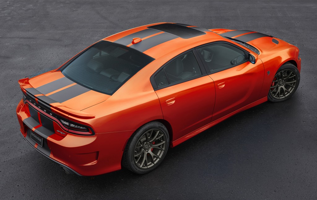 Image 2016 Dodge Charger Srt Hellcat In Go Mango Size