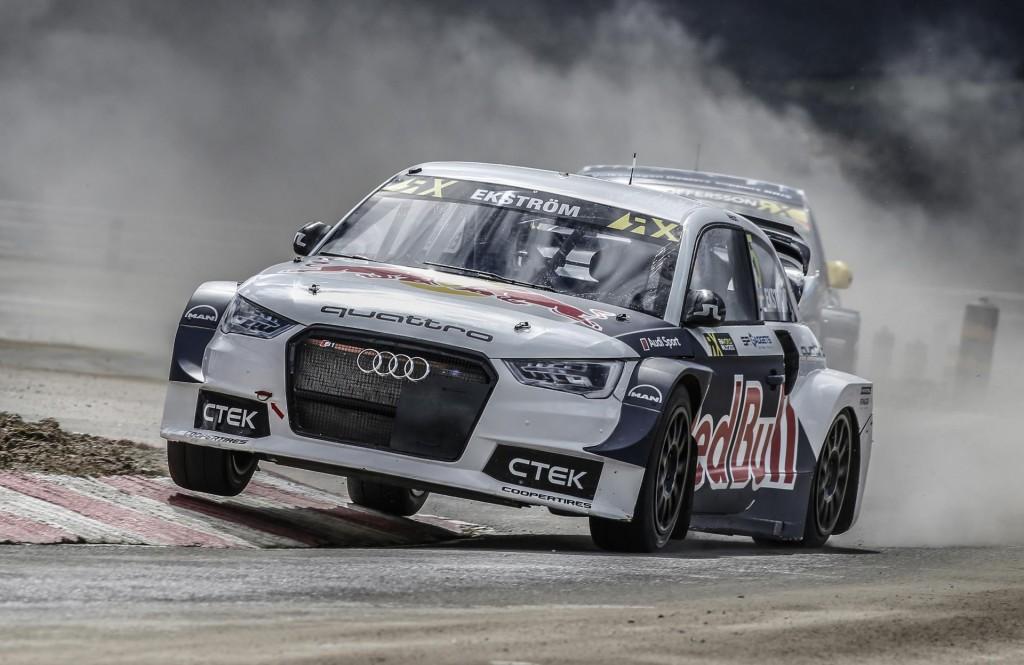 2016 EKS Audi S1 World Rallycross car