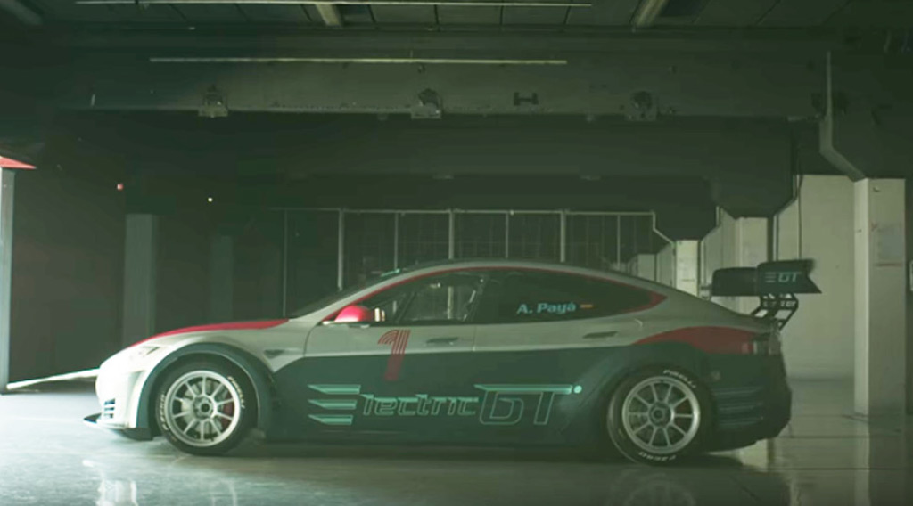 Tesla Model S-based Electric GT racing series launched in Ibiza