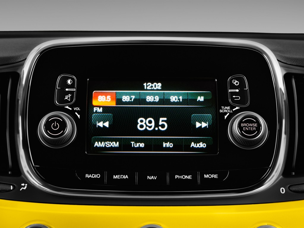 Image 2016 Fiat 500 2 Door Hb Abarth Audio System Size