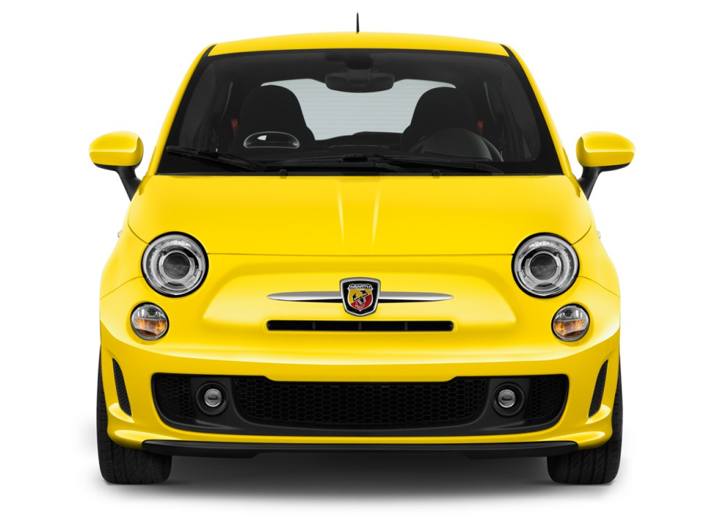 image 2016 fiat 500 2 door hb abarth front exterior view. Black Bedroom Furniture Sets. Home Design Ideas