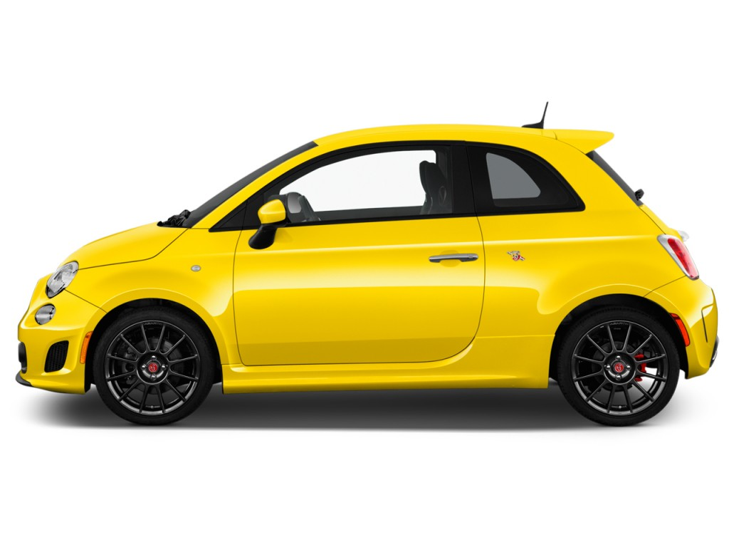 Image 2016 Fiat 500 2 Door Hb Abarth Side Exterior View