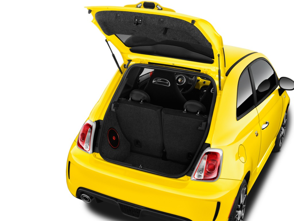 Fiat 500 Abarth Trunk Image: 2016 FIA...
