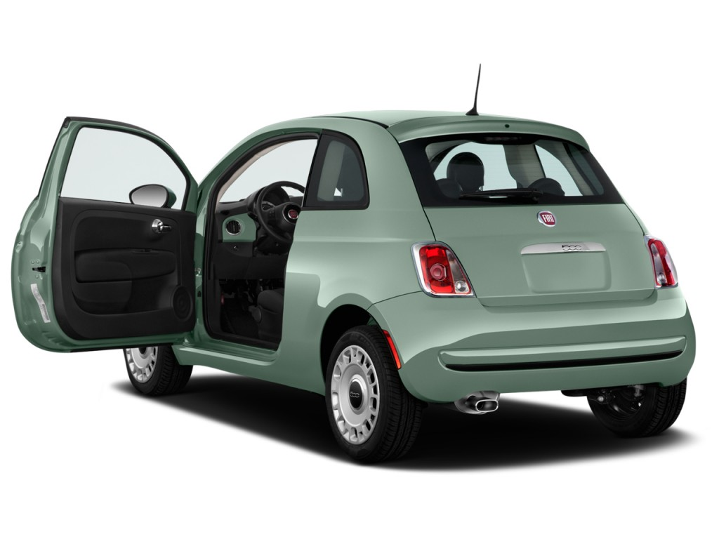 Image 2016 Fiat 500 2 Door Hb Pop Open Doors Size 1024