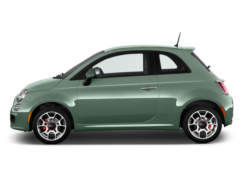 Image: 2016 FIAT 500 2-door HB Sport Side Exterior View ...