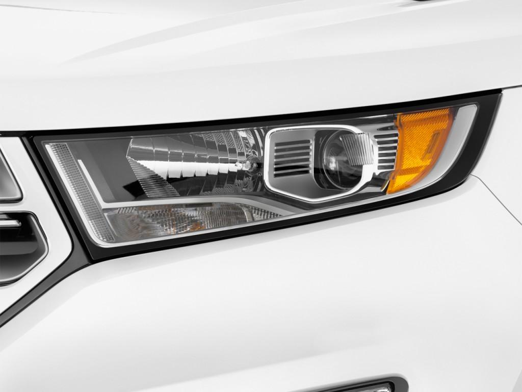 Image: 2016 Ford Edge 4-door SEL FWD Headlight, size: 1024 ...