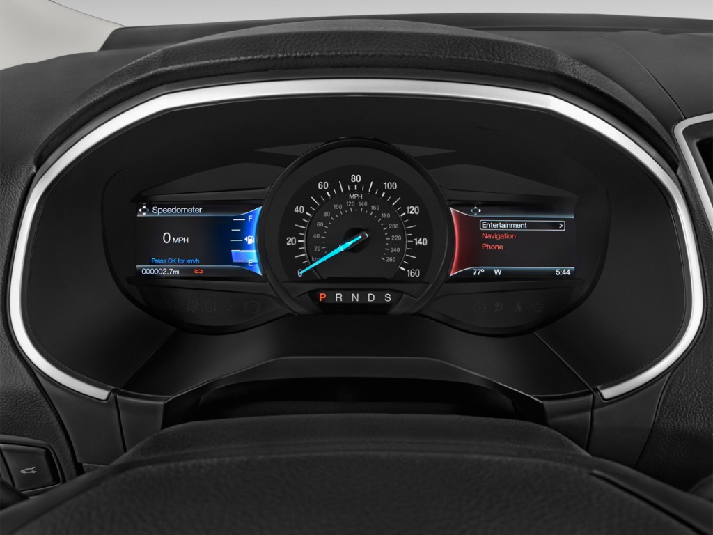 Image 2016 Ford Edge 4 Door Sel Fwd Instrument Cluster