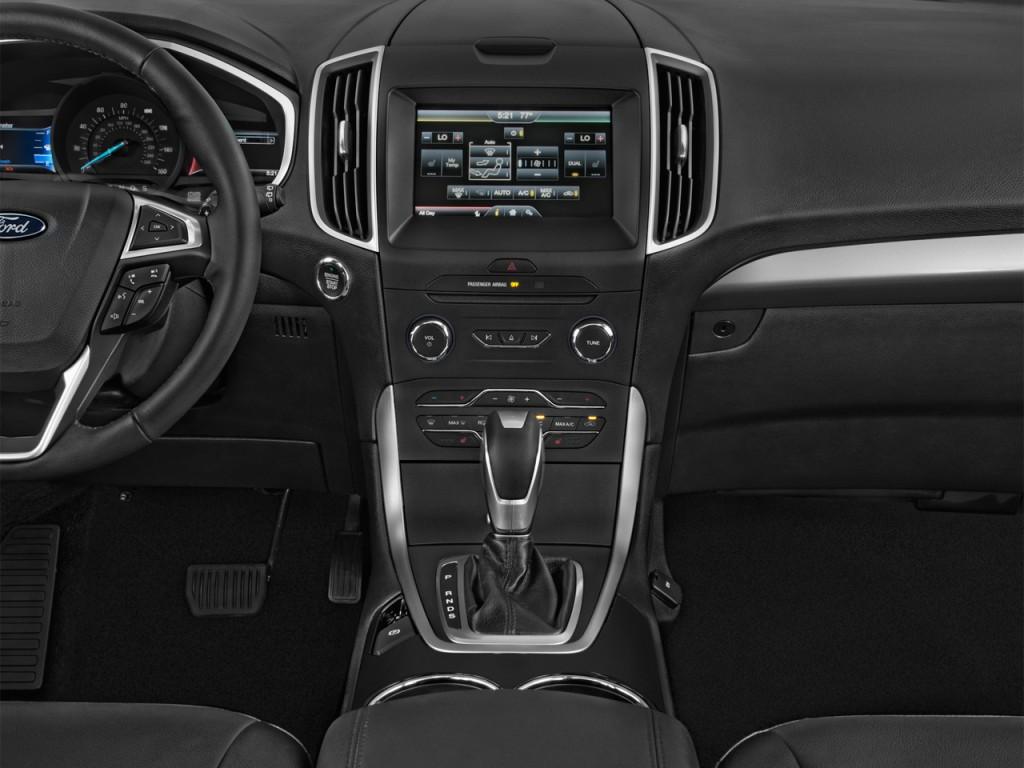 Image 2016 Ford Edge 4 Door Sel Fwd Instrument Panel