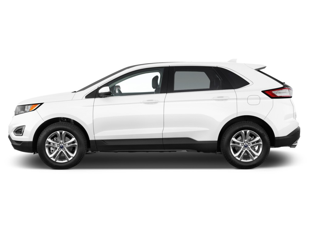 Image 2016 Ford Edge 4 Door Sel Fwd Side Exterior View