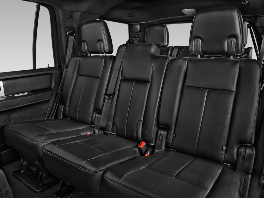 Image: 2016 Ford Expedition 2WD 4-door XLT Rear Seats ...