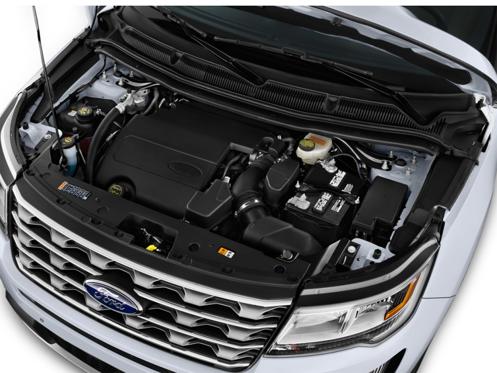 2016 Ford Explorer 4WD 4-door Limited Engine