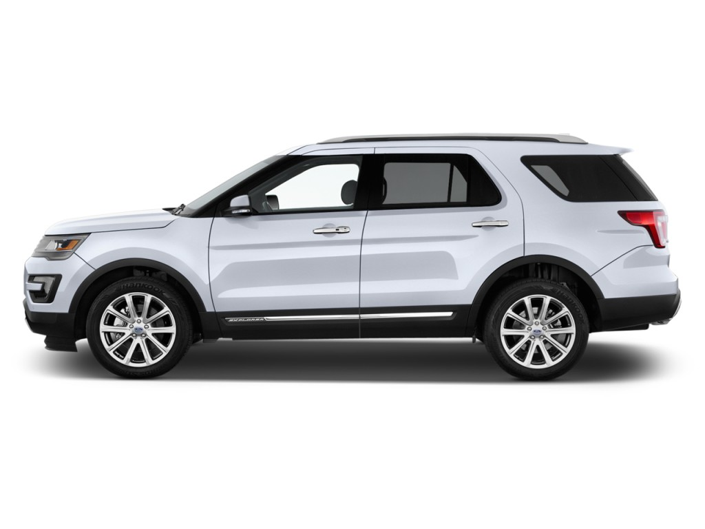 Image 2016 Ford Explorer 4wd 4 Door Limited Side Exterior
