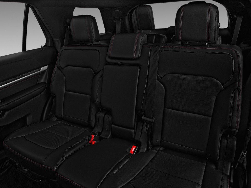 Image 2016 Ford Explorer 4wd 4 Door Sport Rear Seats