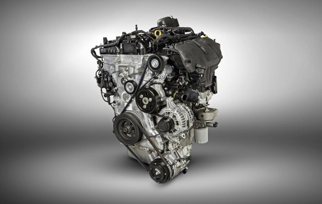 2016 Ford Explorer  -  2.3-liter EcoBoost four-cylinder engine