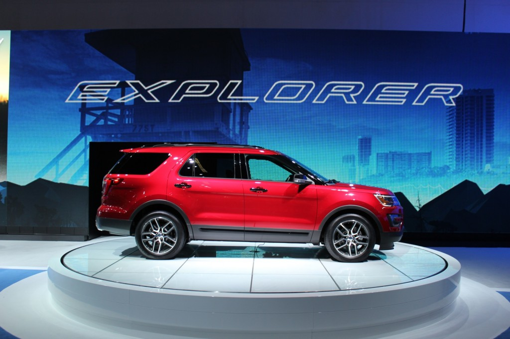 image 2016 ford explorer 2014 los angeles auto show. Black Bedroom Furniture Sets. Home Design Ideas