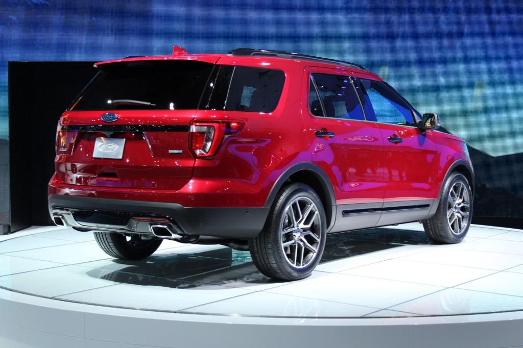 Image 2016 Ford Explorer 2014 Los Angeles Auto Show