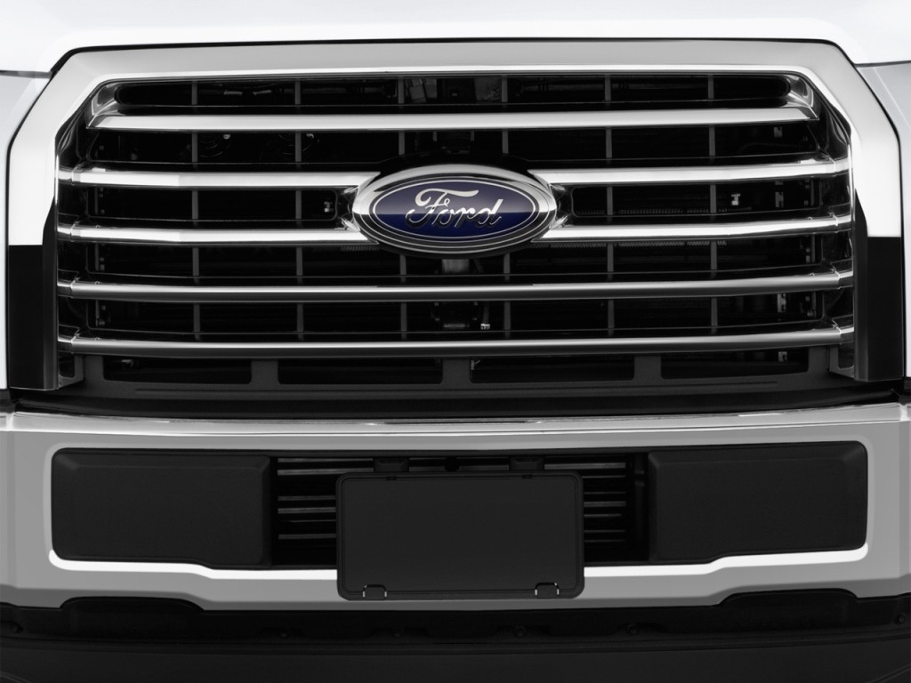 Image 2016 Ford F 150 2wd Supercrew 145 Quot Xlt Grille Size