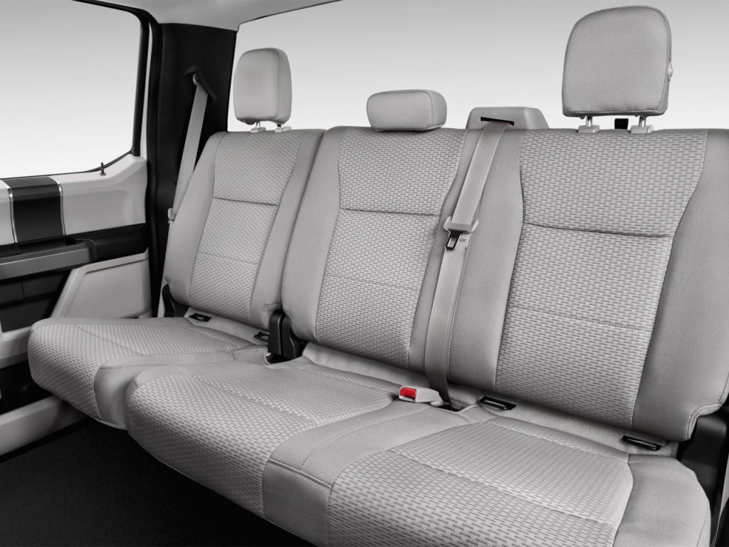 image 2016 ford f 150 2wd supercrew 145 xlt rear seats. Black Bedroom Furniture Sets. Home Design Ideas