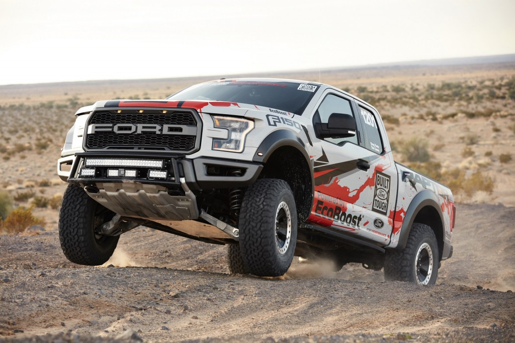 2016 Ford F-150 Raptor Best in the Desert race truck