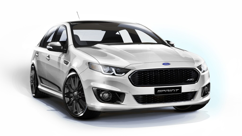 Image: 2016 Ford Falcon XR8 Sprint, size: 1024 x 576, type ...