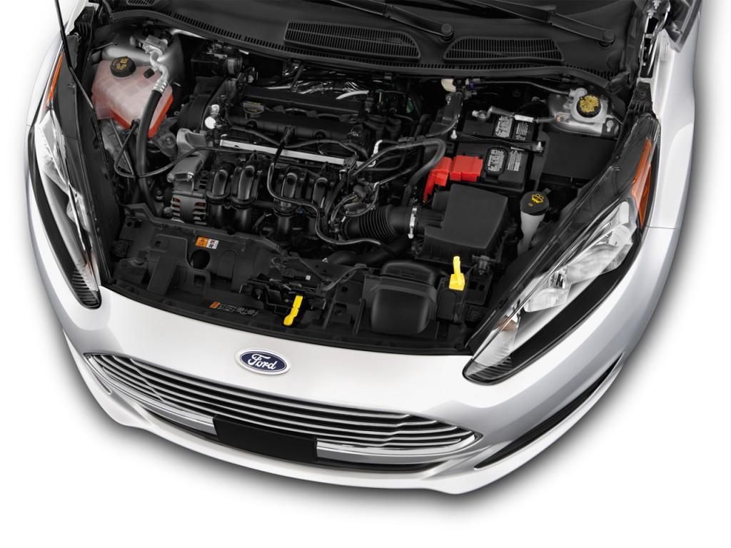 Image: 2016 Ford Fiesta 5dr HB SE Engine, size: 1024 x 768 ...