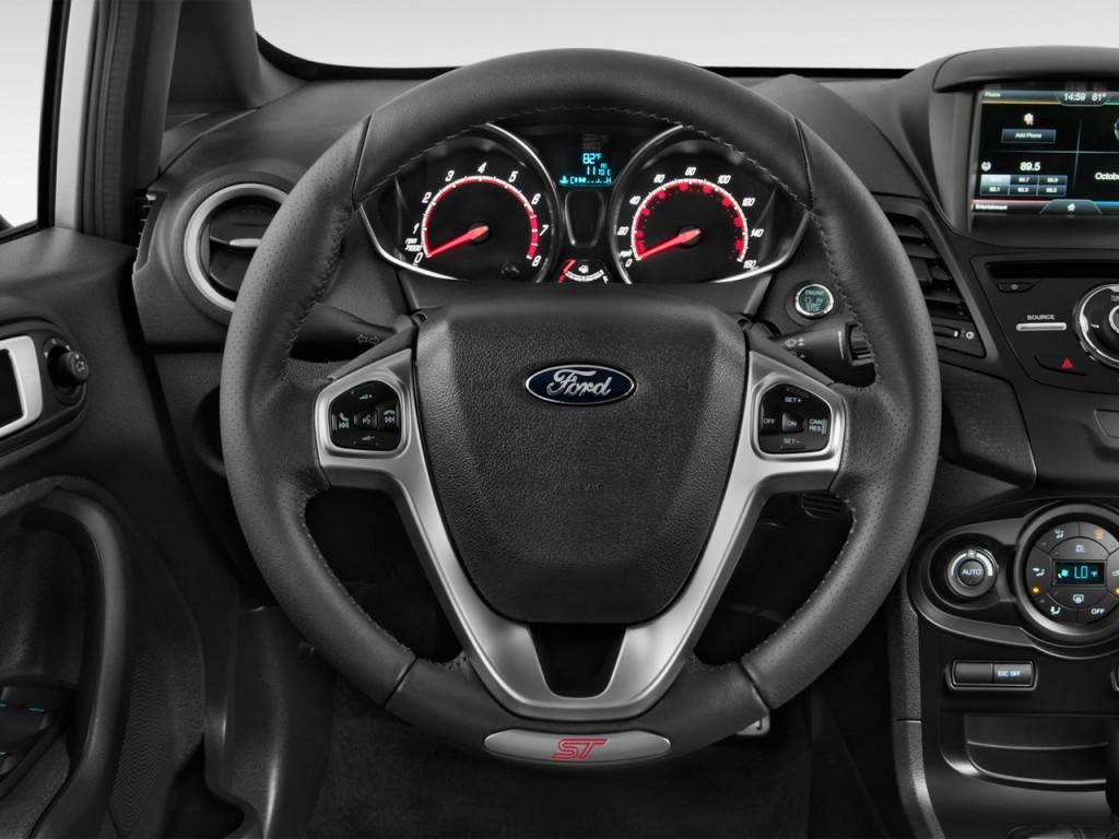Ford Fiesta Dr Hb St Steering Wheel L