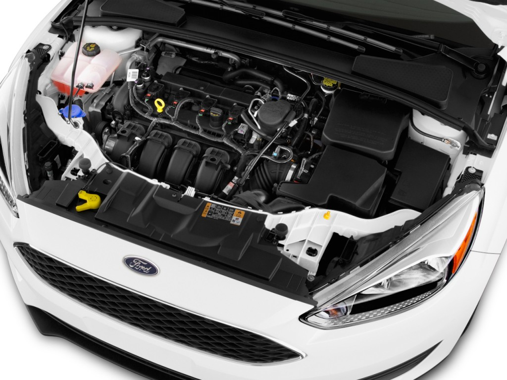 Image: 2016 Ford Focus 4-door Sedan SE Engine, size: 1024 x 768, type: gif, posted on: November ...