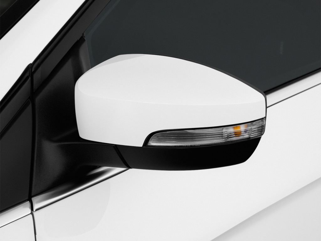 Image: 2016 Ford Focus 4-door Sedan Titanium Mirror, size ...