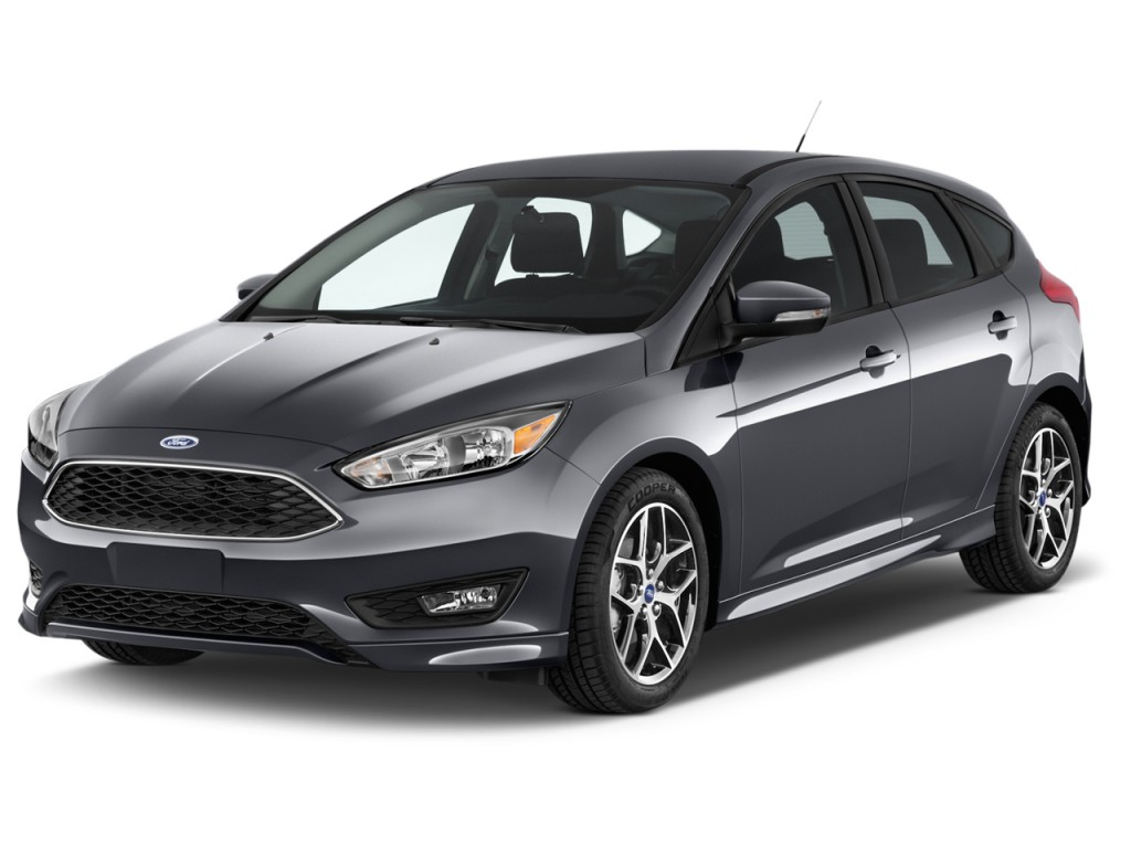 Image 2016 Ford Focus 5dr Hb Se Angular Front Exterior