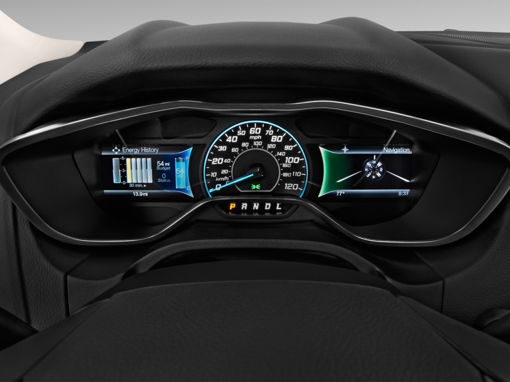image 2016 ford focus electric 5dr hb instrument cluster size 1024 x 768 type gif posted. Black Bedroom Furniture Sets. Home Design Ideas