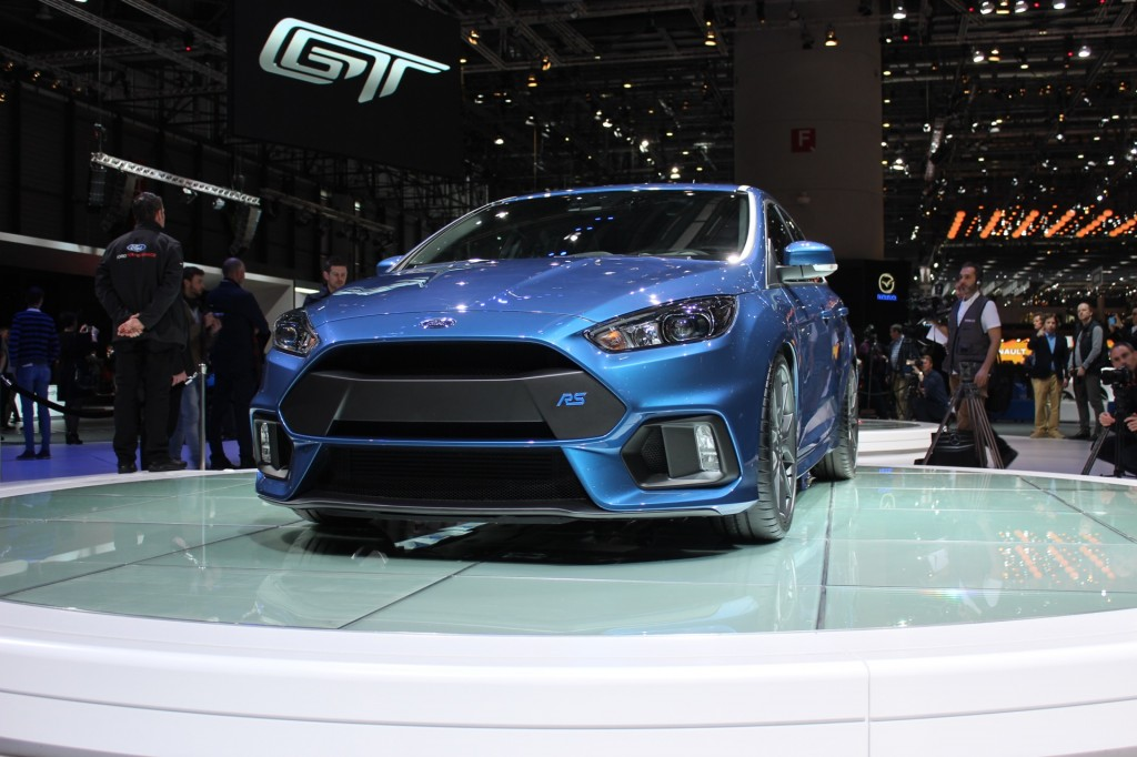 Image 2016 ford focus rs 2015 geneva motor show live for Ford motor company 10k 2016