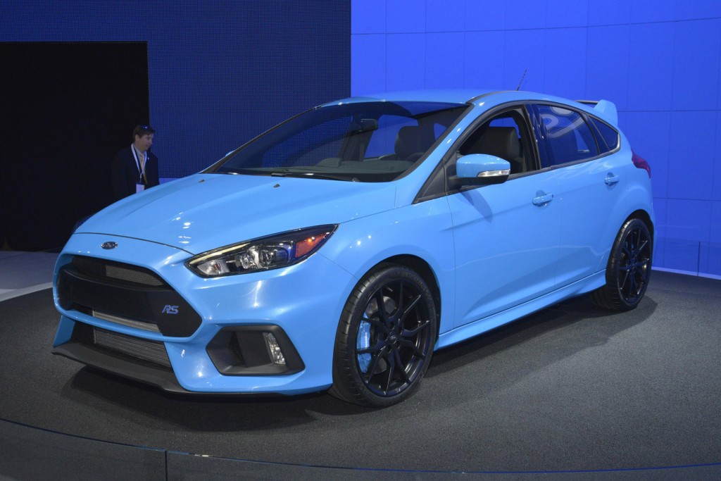 2016 ford focus rs u.s. specs, availability confirmed: live photos