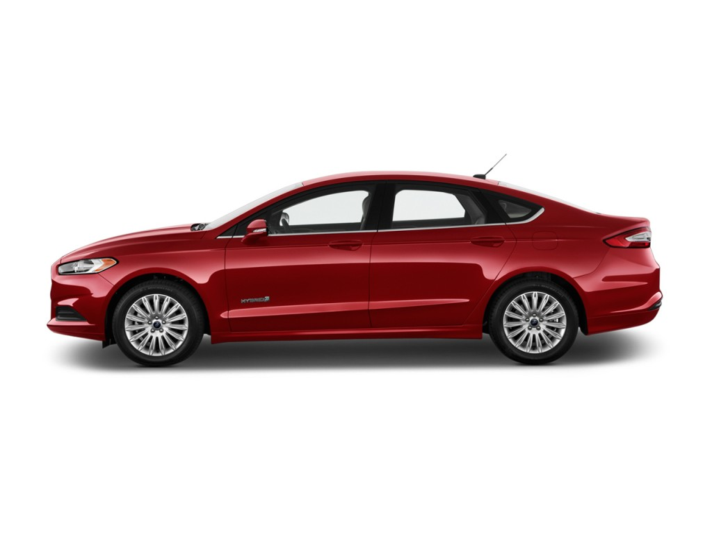 Image 2016 Ford Fusion 4 Door Sedan Se Hybrid Fwd Side