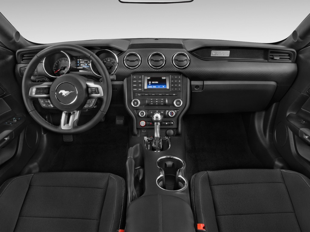 Used Ford Transit Connect >> Image: 2016 Ford Mustang 2-door Fastback V6 Dashboard, size: 1024 x 768, type: gif, posted on ...