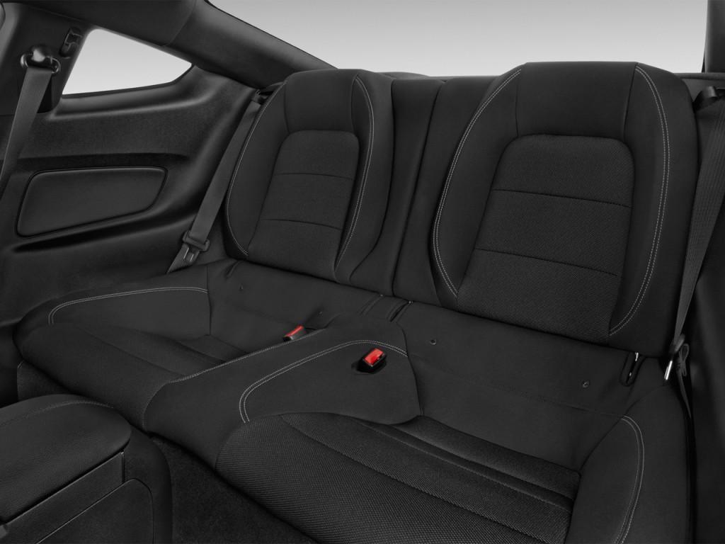 Image: 2016 Ford Mustang 2-door Fastback V6 Rear Seats ...