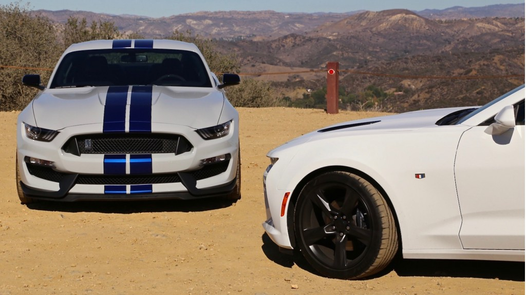 2016 Ford Shelby GT350 Vs. Chevrolet Camaro SS