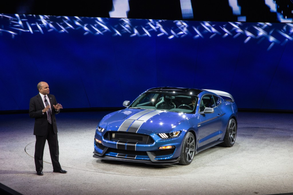 Image 2016 Ford Mustang Shelby Gt350r 2015 Detroit Auto