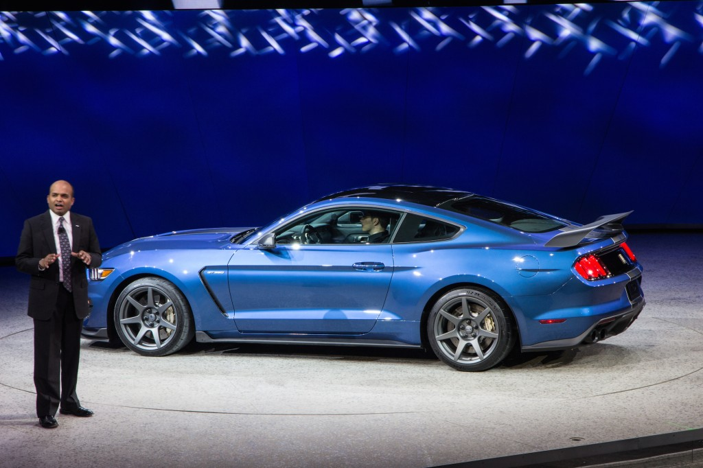 Image: 2016 Ford Mustang Shelby GT350R, 2015 Detroit Auto ...