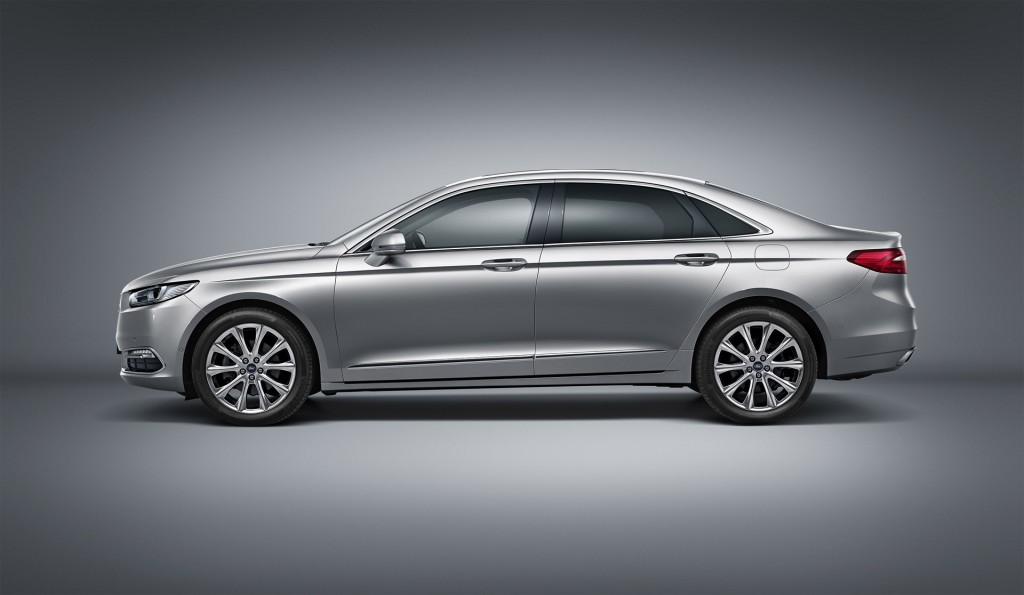 new ford taurus revealed ahead of 2015 shanghai auto show