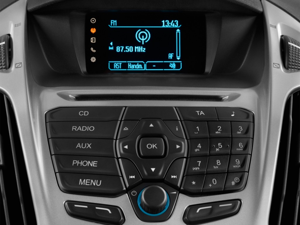 Ford Transit Connect Passenger Van >> Image: 2016 Ford Transit Connect SWB XLT Audio System, size: 1024 x 768, type: gif, posted on ...