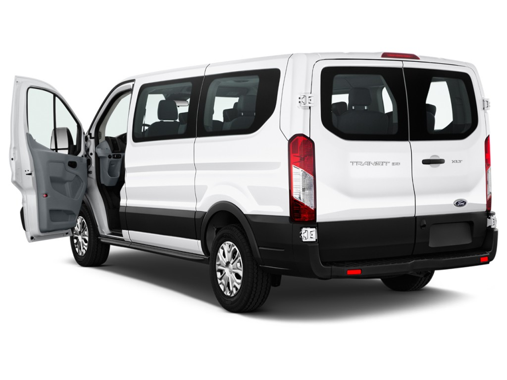 "Image: 2016 Ford Transit Wagon T-150 130"" Low Roof XLT Sliding RH Dr Open Doors, size: 1024 x ..."