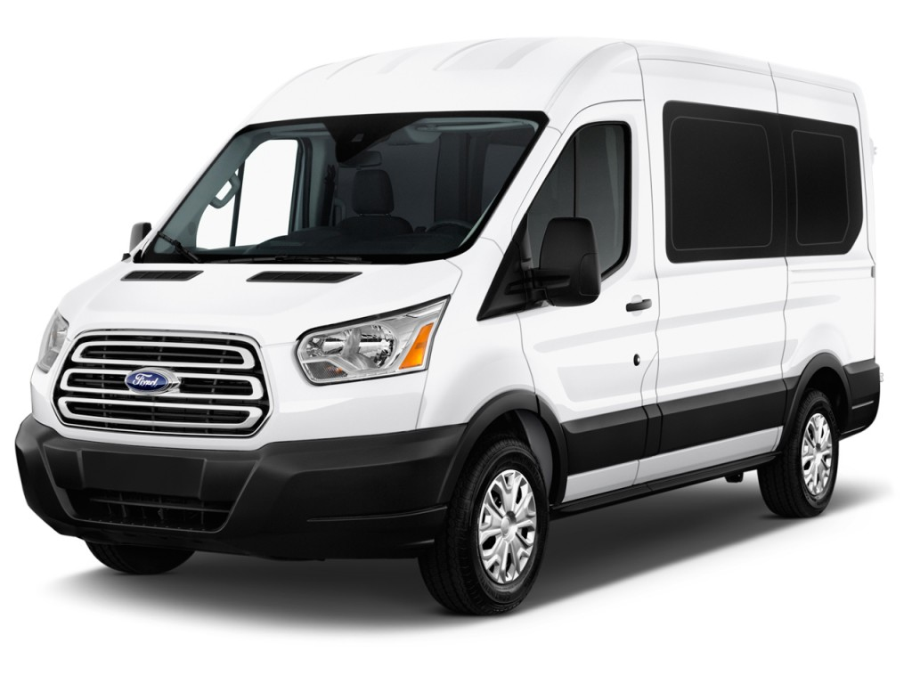 """Ford Transit Wagon >> Image: 2016 Ford Transit Wagon T-150 130"""" Med Roof XLT ..."""