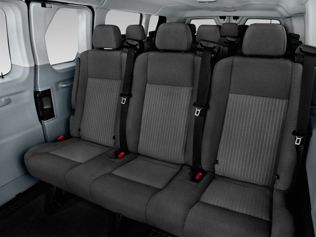 "Image: 2016 Ford Transit Wagon T-350 148"" Low Roof XLT Sliding RH Dr Rear Seats, size: 1024 x ..."