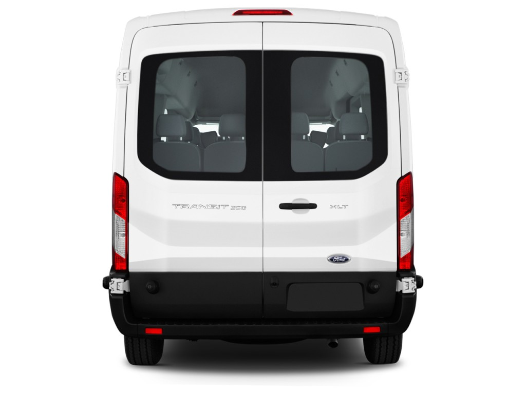 image 2016 ford transit wagon t 350 148 med roof xlt sliding rh dr rear exterior view size. Black Bedroom Furniture Sets. Home Design Ideas