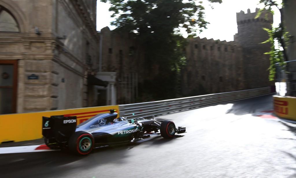 2016 Formula One European Grand Prix in Baku, Azerbaijan