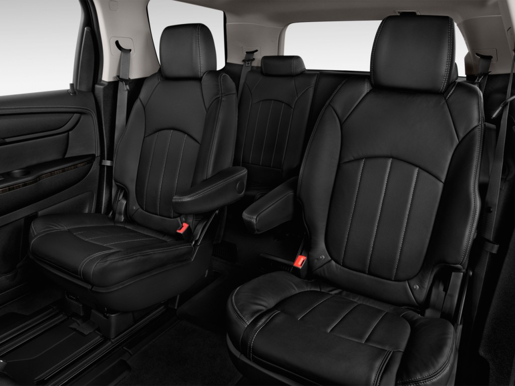 image 2016 gmc acadia fwd 4 door slt w slt 1 rear seats. Black Bedroom Furniture Sets. Home Design Ideas