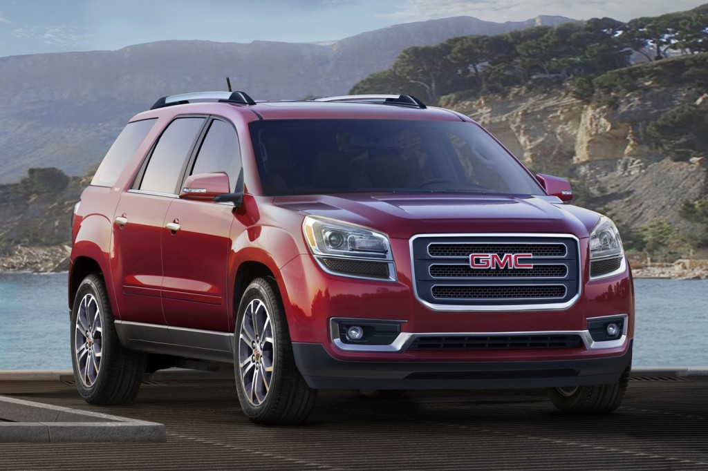 2016 Gmc Acadia Review Ratings Specs Prices And Photos The Car Connection