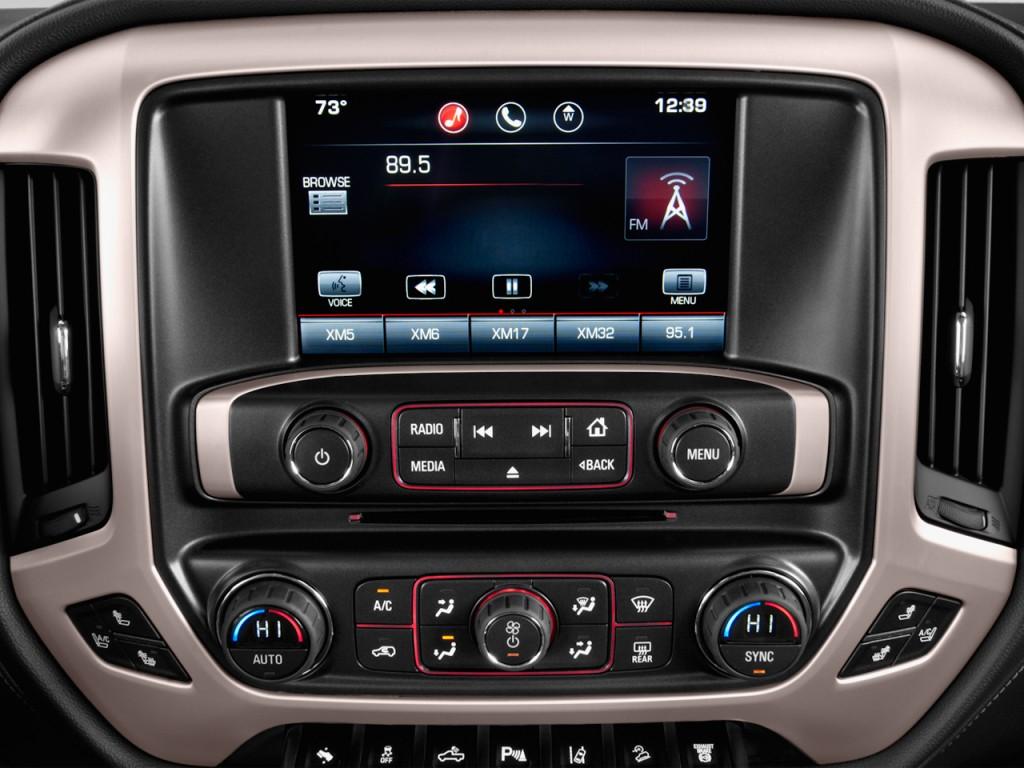 "Image: 2016 GMC Sierra 2500HD 2WD Crew Cab 153.7"" Denali Audio System, size: 1024 x 768, type ..."