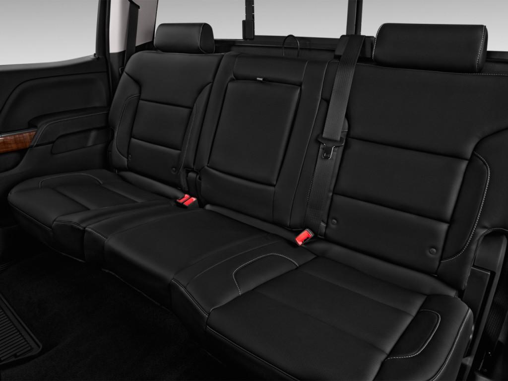 """Image: 2016 GMC Sierra 2500HD 2WD Crew Cab 153.7"""" SLT Rear ..."""