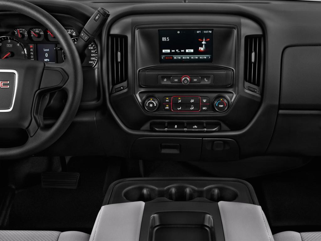 "Image: 2016 GMC Sierra 2500HD 2WD Reg Cab 133.6"" Instrument Panel, size: 1024 x 768, type: gif ..."